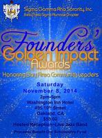 Sigma Gamma Rho Sorority, Inc. Founders' Golden Impact...