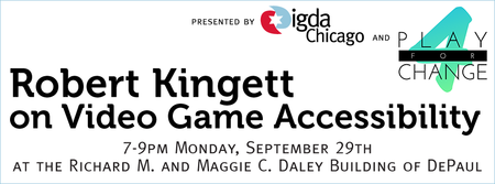 Robert Kingett on Video Game Accessibility
