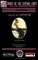 STEVIE JOE LIVE AT THE PLANET - FRIDAY, SEPTEMBER...