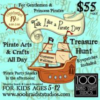Talk Like a Pirate Day for Ages 5-12