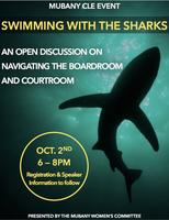 MuBANY CLE: Swimming With Sharks