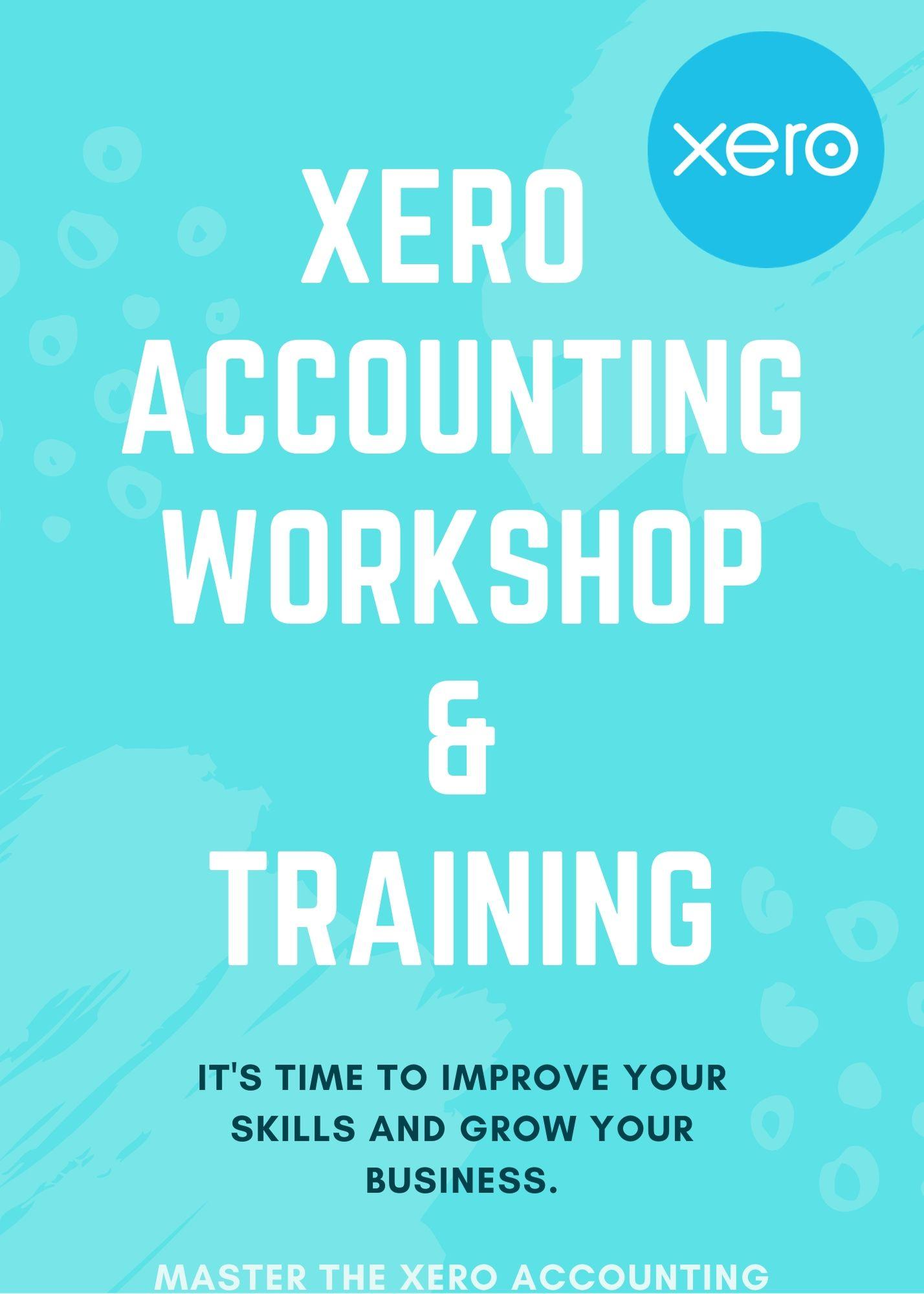 XERO - ACCOUNTING SOFTWARE TRAINING AND WORKSHOP