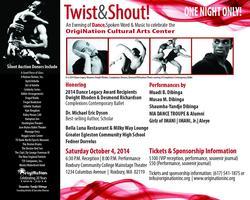 Twist & Shout!  An Evening of Dance, Spoken Word and...