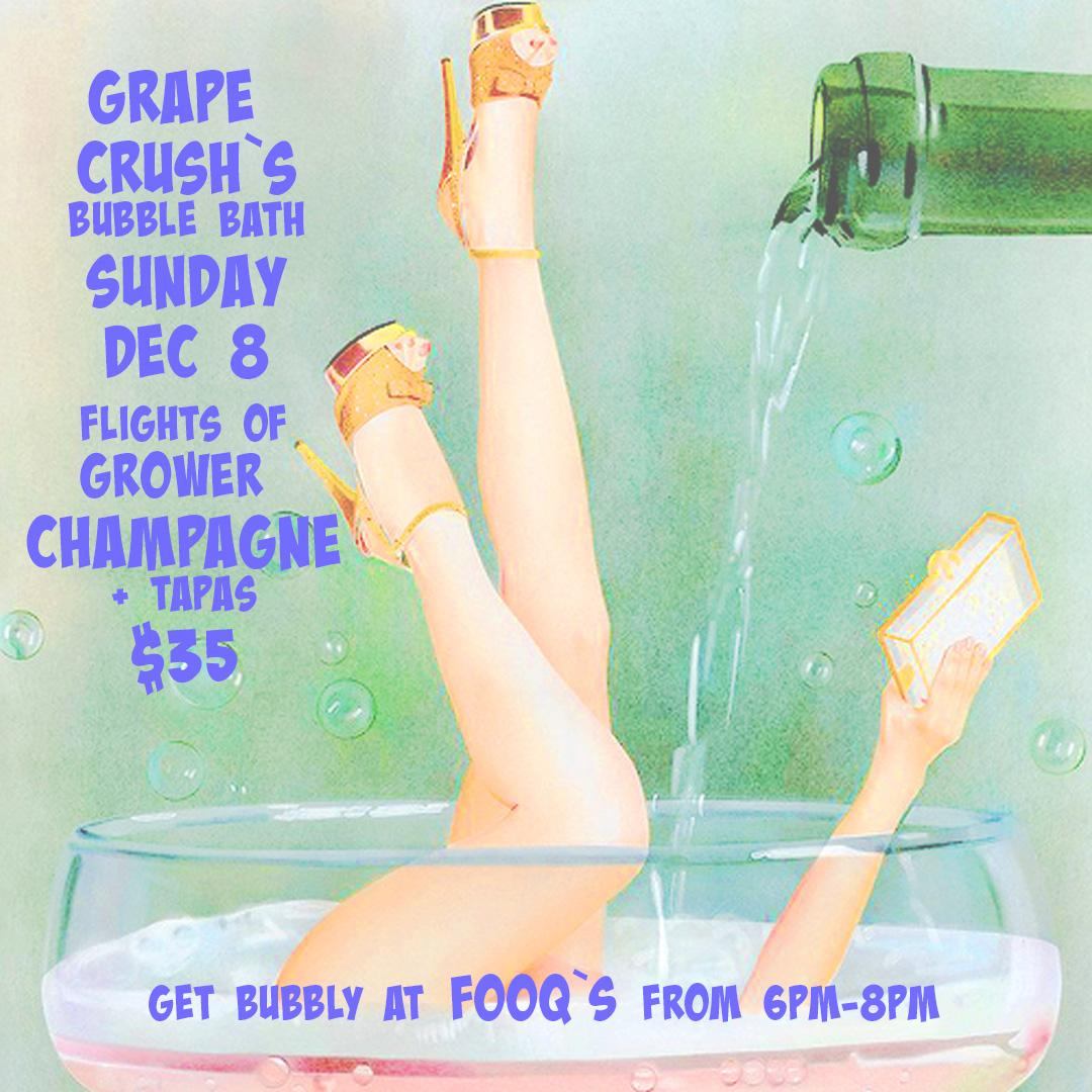 Grape Crush December Bubble Bath!