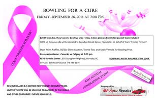 BOWLING FOR A CURE - CIBC Run for the Cure Team...