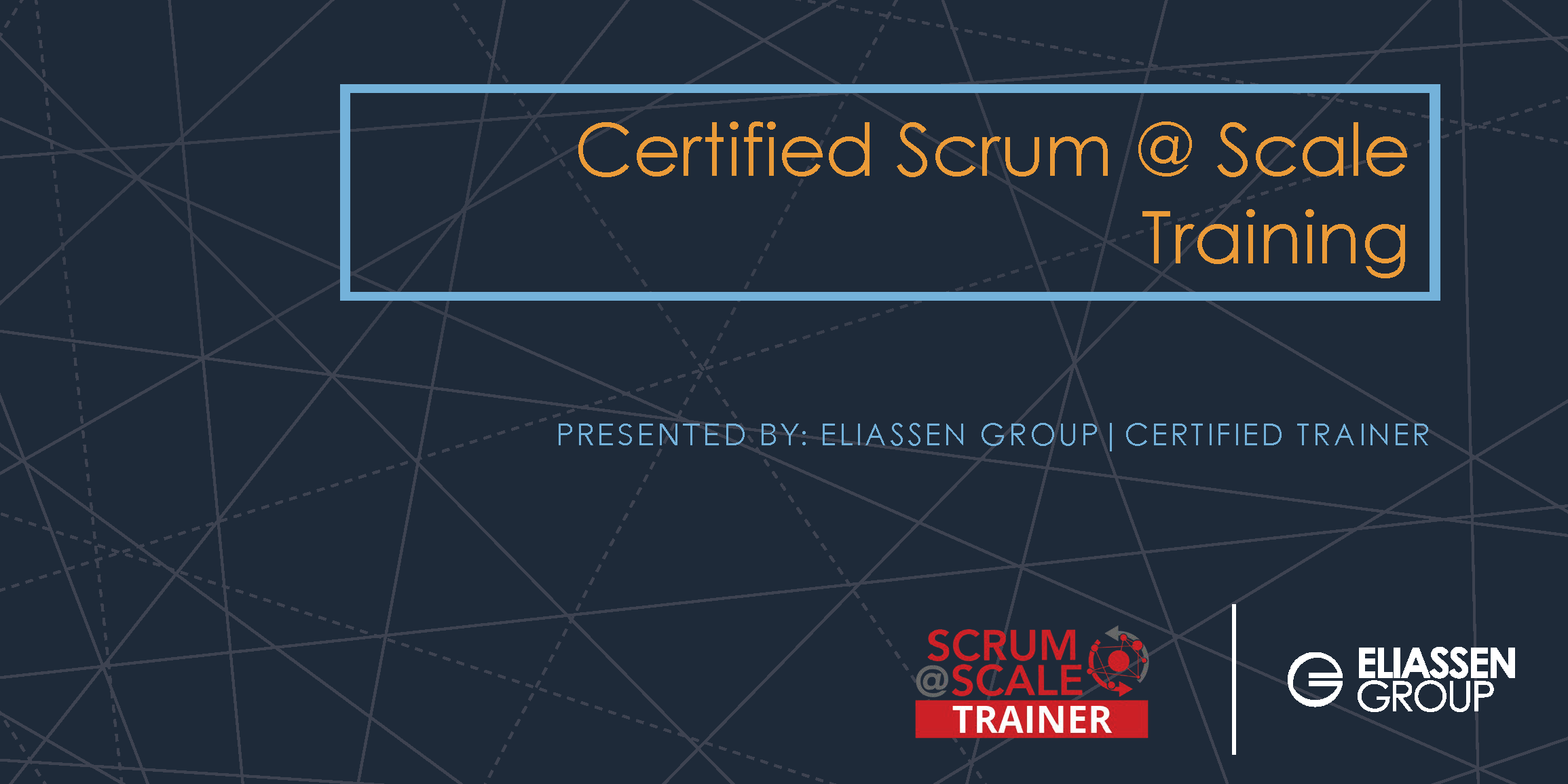 REMOTE DELIVERY - Scrum @ Scale with Practitioner Certification - Tampa - June