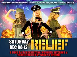 Relief 2012 - 40 Acts 3 Venues - Fund Raiser For Vets...