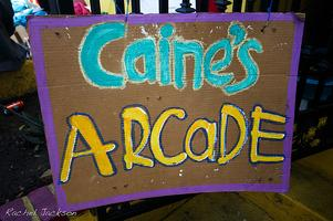 Caine's Arcade Screening and Cardboard Construction