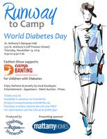 "World Diabetes Day Fashion Show ""RUNWAY TO CAMP"""