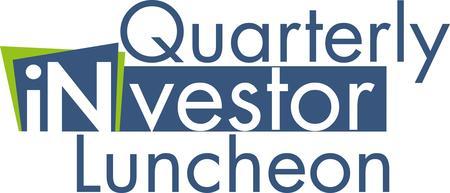 October 2014 Quarterly Investor Luncheon