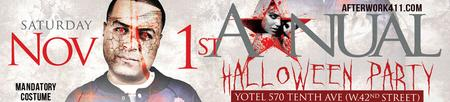 Haunted Yotel NYC Halloween Party Times Square NYC