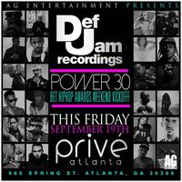 AG Entertainment Presents Def Jam Records Power 30 ::...