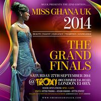 MISS GHANA UK 2014