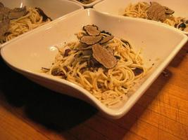 October 4, 2014  Celebrating the truffle festival in...