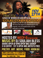 Spoken Word Revolution Niecy-D of Star94.5fm BDay Bash...