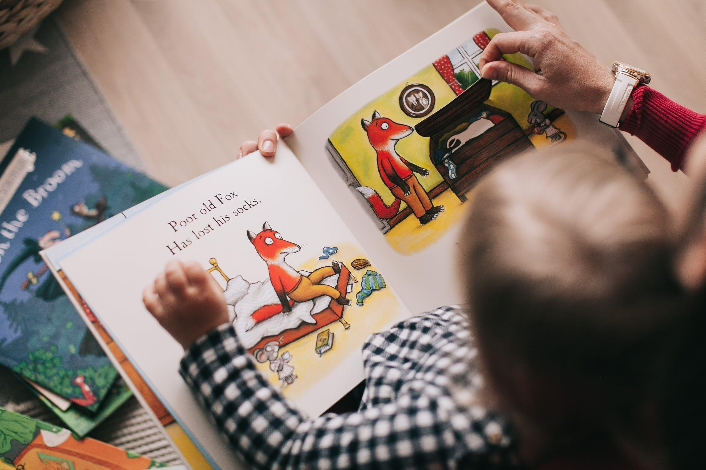 The Importance of Story at Park Holme Library