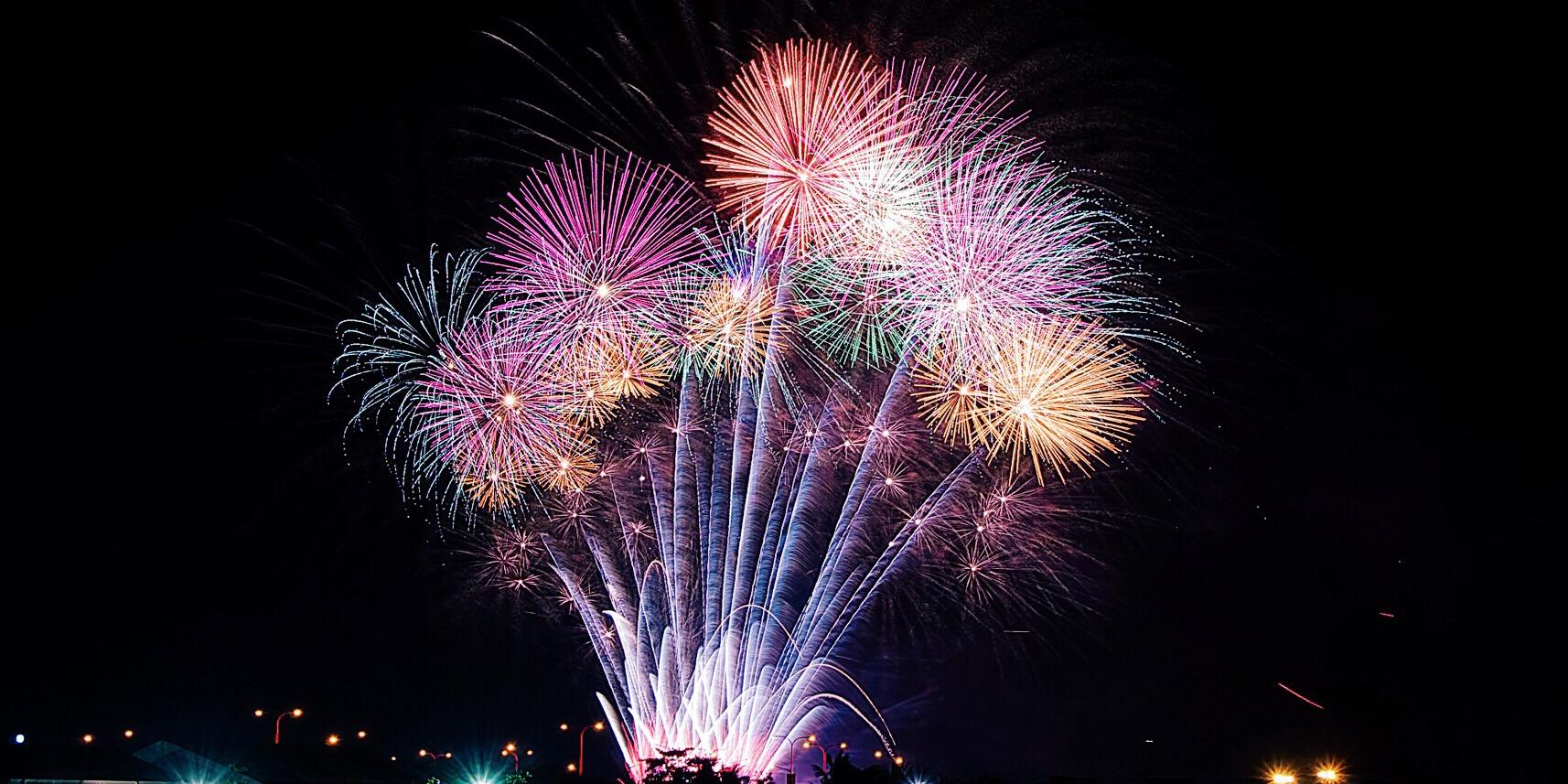 New Year's Eve Midnight Kiss Fireworks Cruise