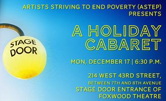 Backstage for Christmas: A Holiday Cabaret a benefit...