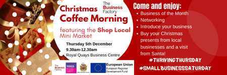 Business of the Month Coffee Morning – Thursday 5th...