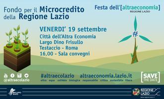 Fondo per il Microcredito della Regione Lazio