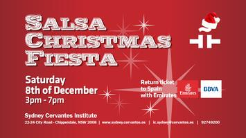 Salsa Christmas Fiesta at Cervantes Sydney