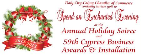 Annual Holiday Soiree and 59th Cypress Business Awards...