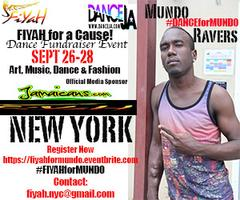 Fiyah for a Cause! Dance Fundraiser for MUNDO RAVERS