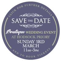 A Boutique Wedding Event at Hodsock Priory