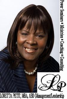 "Loretta ""DrLo"" Petit (ABD), MBA, - FOUNDER/COACH/MENTOR logo"