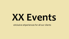 XX Events logo