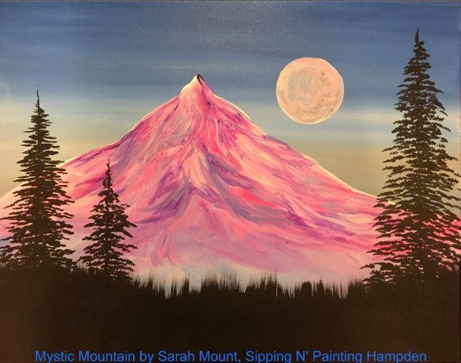 Paint Wine Denver Mystic Mountain Thurs Jan 30th 6:30pm $35