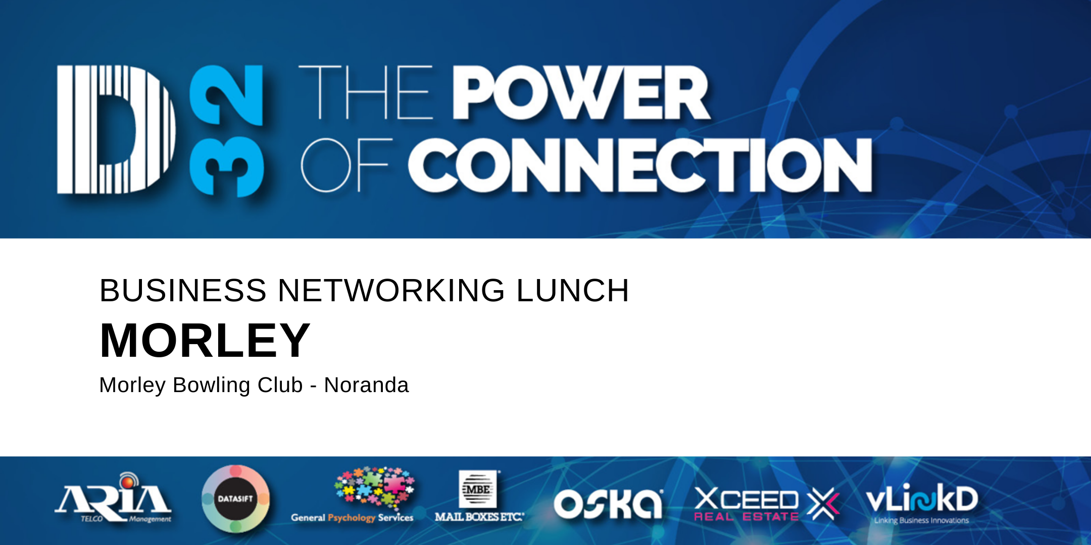 District32 Business Networking Perth – Morley (Noranda) - Wed 29th Jan