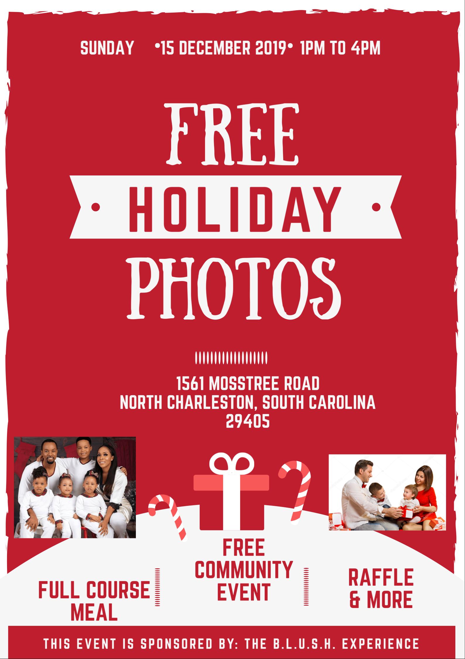 Free Holiday Family Photos