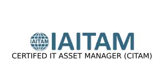 ITAITAM Certified IT Asset Manager (CITAM) 4 Days Virtual Live Training in Brampton