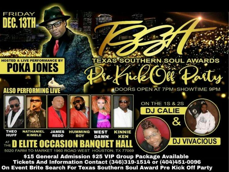 Texas Southern Soul Awards Pre Kick-Off Party