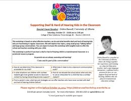 Workshop - Supporting Deaf & Hard of Hearing Kids in...