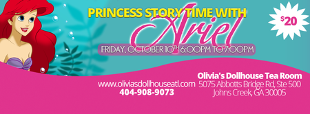 Princess Ariel Story Story Time With Ariel in
