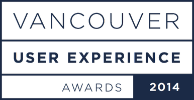 Vancouver User Experience Awards 2014