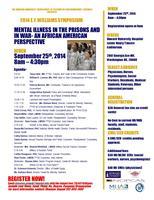 EY Williams Symposium - Mental Illness in the Prison...