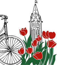 Bike Ottawa: Citizens for Safe Cycling logo