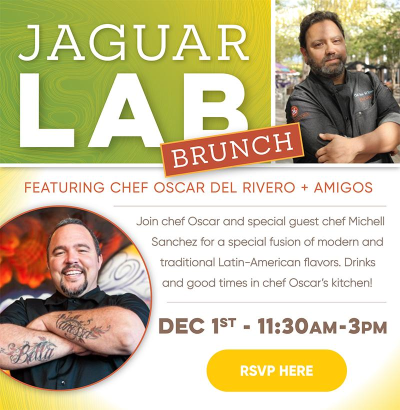 Jaguar Lab The Brunch Edition with Chef Michell Sanchez from Latin House
