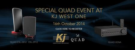 QUAD open evening at KJ West One