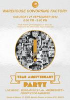 1° YEAR ANNIVERSARY PARTY