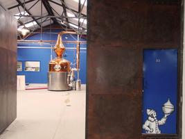 Tour and tasting at the new Sipsmith Distillery....