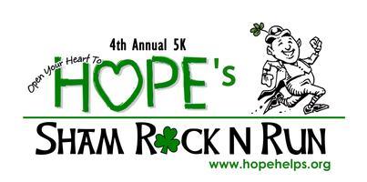 HOPE's Sham Rock N Run 5K 2015
