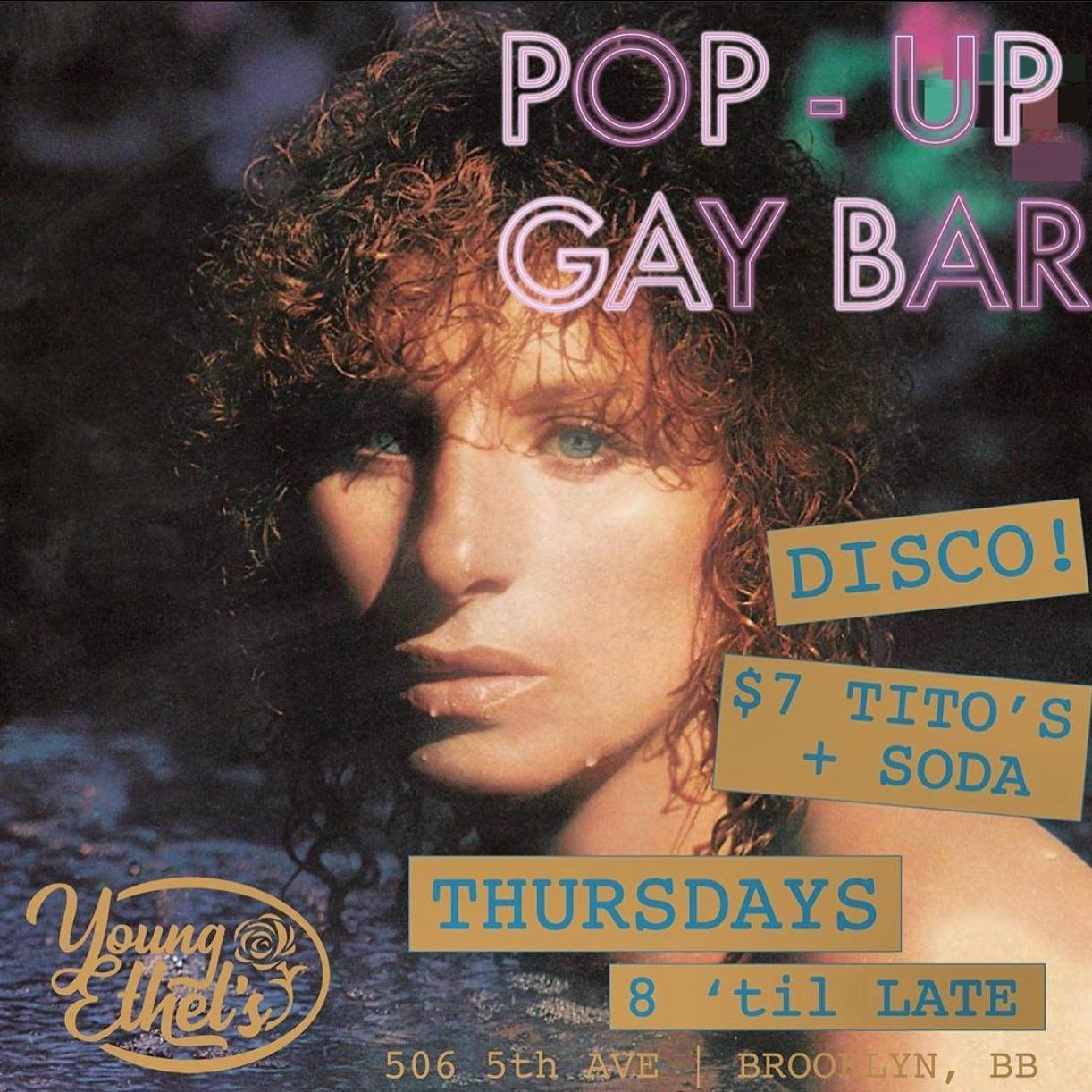Pop-Up Gay Bar
