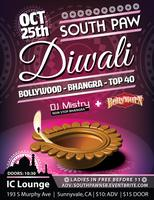 Diwali at South Paw #3 featuring BollyBurn from SF