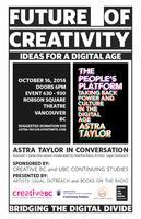 Astra Taylor | The Future of Creativity