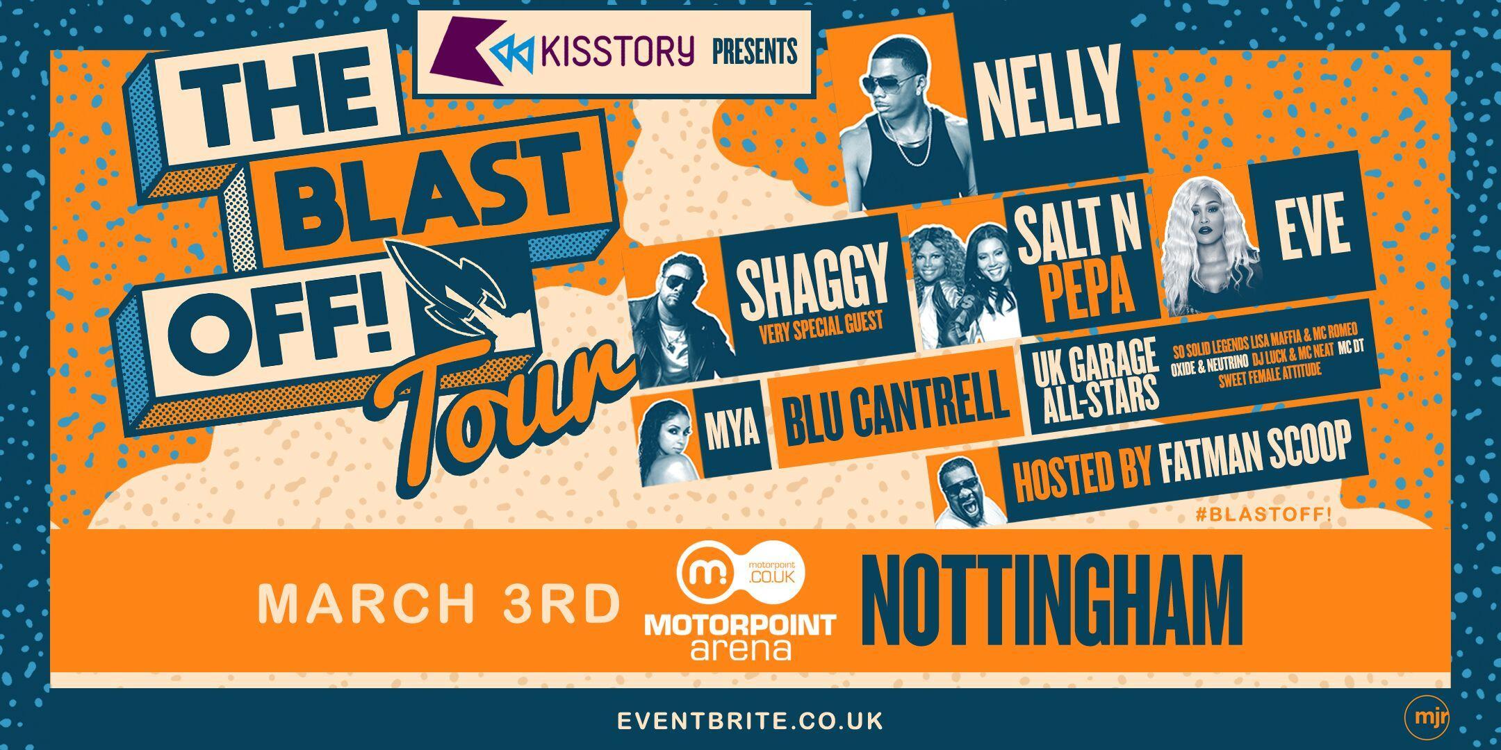 KISSTORY Presents The Blast Off! Tour (Motorpoint Arena, Nottingham)