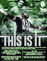 """PWX: Premiere Wrestling Xperience """"This Is It"""" High..."""